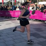Rachel runs half marathon